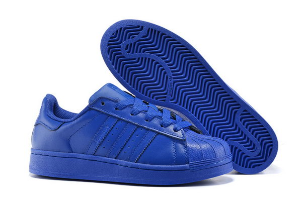 Adidas Superstar Mens & Womens (unisex) All Blue Czech